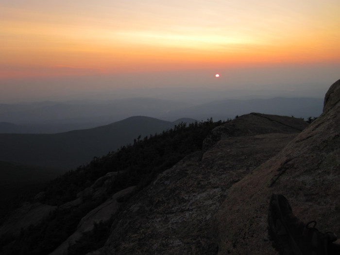 5. From the summit of Mount Garfield.