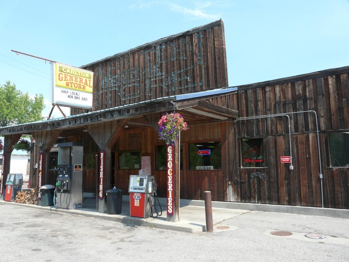 2. Everything you needed (and more) could be found at the general store right up the street.