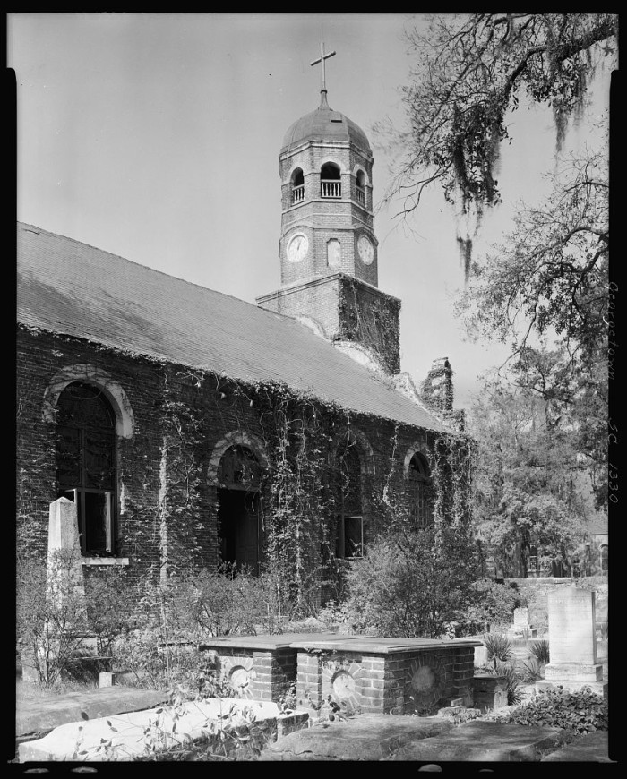 1. A Georgetown County church in 1938.
