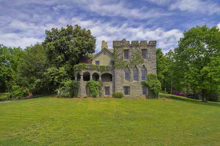 2. A castle is the perfect place for a fairy tale. This one is just outside Greenville, SC.