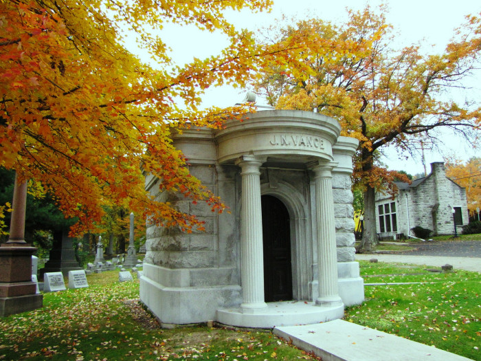 1. This is Greenwood Cemetery in Wheeling.