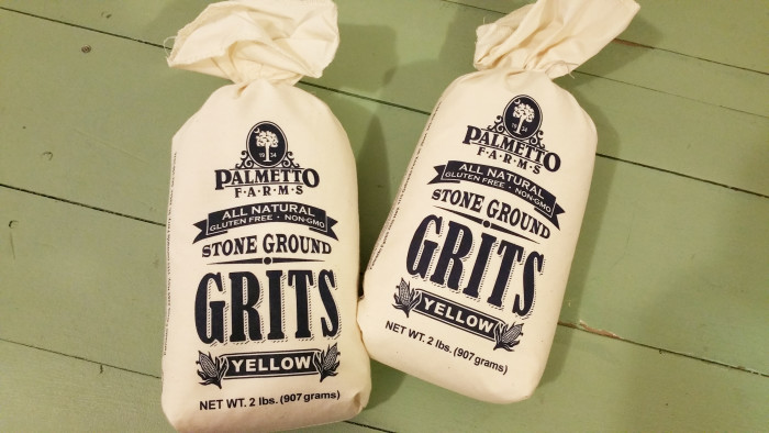 4. If the grits aren't stone-ground you get a little annoyed.