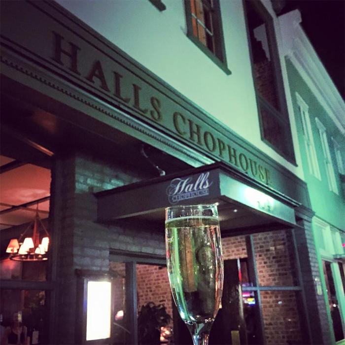 1. At Halls Chophouse - Charleston, SC