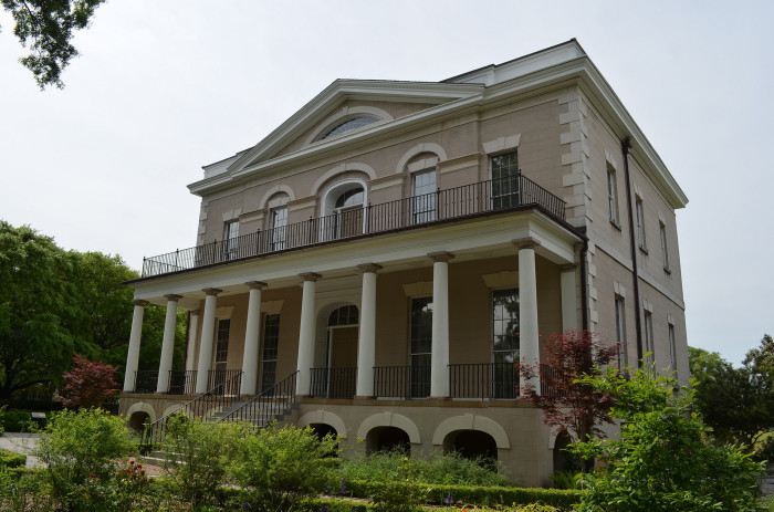 10. Go see one of Columbia's oldest and most prominent mansions from the 1800s.