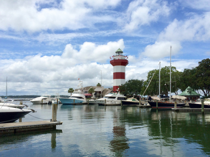 11. Harbour Town, Hilton Head Island. Perfect for a romantic walk in the afternoon.