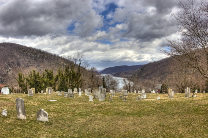 8. This is a cemetery in Harpers Ferry.
