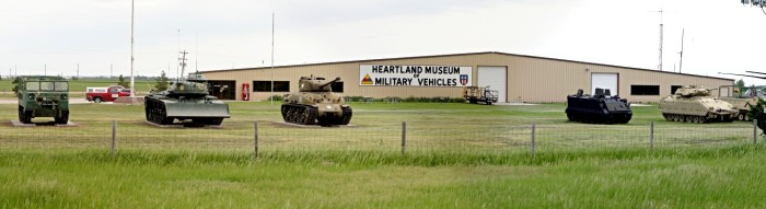 Visit the Heartland Museum of Military Vehicles in Lexington