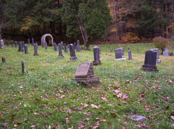 2. This is a cemetery in Helvetia.