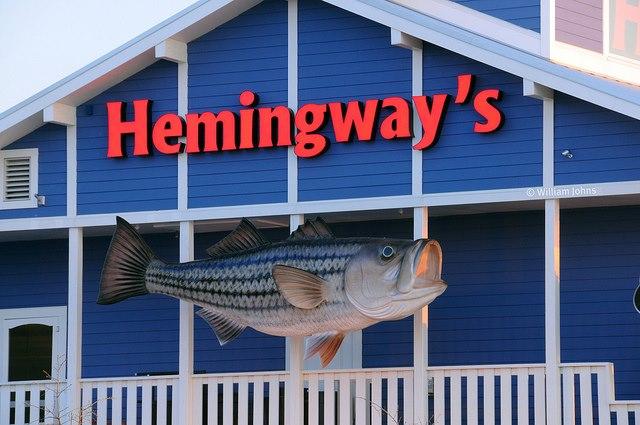 13) Hemingway's Restaurant at Bay Bridge Marina, Stevensville