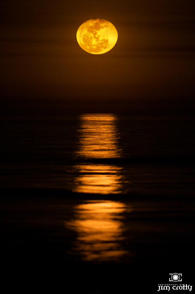 4. The moon rises over the Atlantic on the South end of Hilton Head Island.