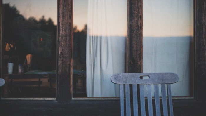 6. Sitting outside on the porch for hours