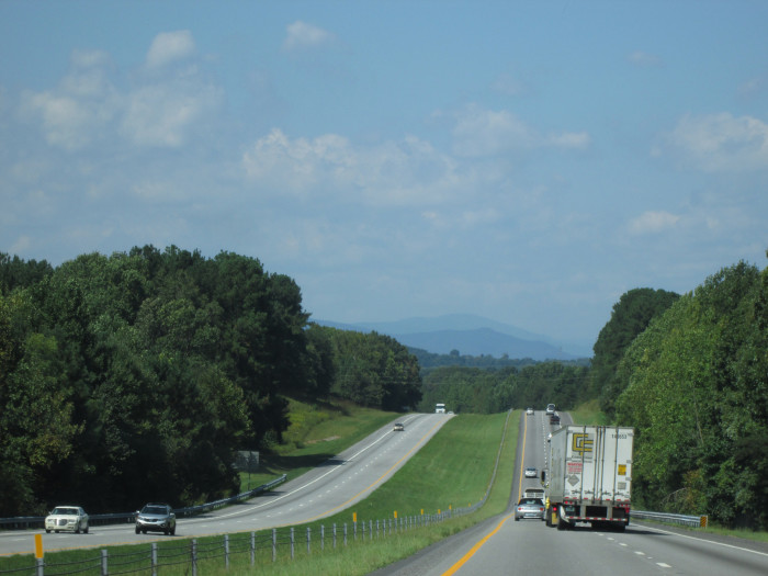 13. Even the Interstate in South Carolina is nicer in rural areas.