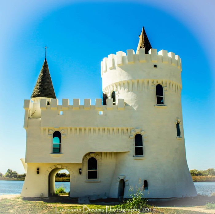 10. A miniature castle?