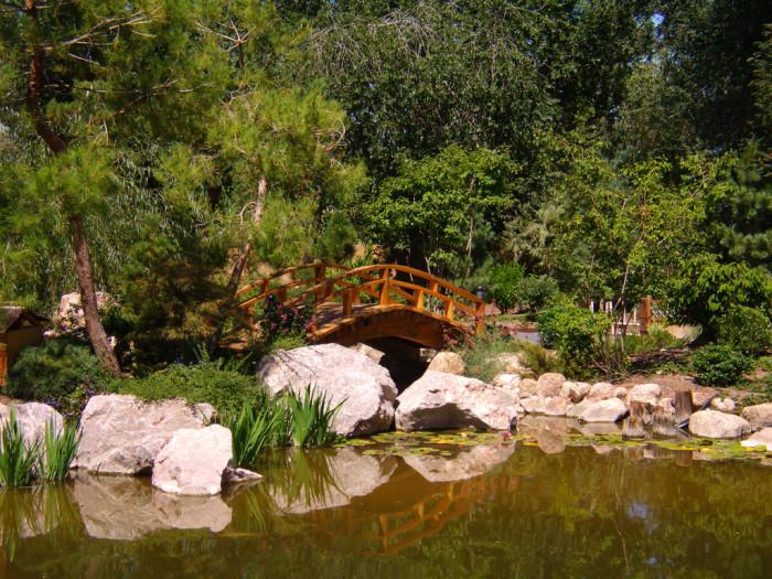 10. Bridge in the Sasebo Japanese Garden, Albuquerque