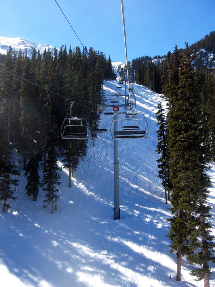 2. One of New Mexico's ski resorts in the northern part of the state