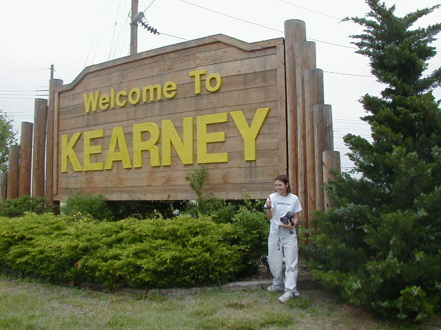 6. How do you pronounce Kearney?