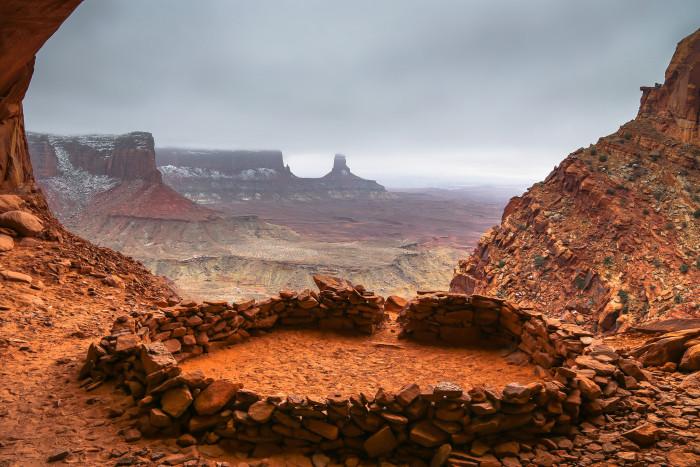 6. False Kiva, Canyonlands National Park