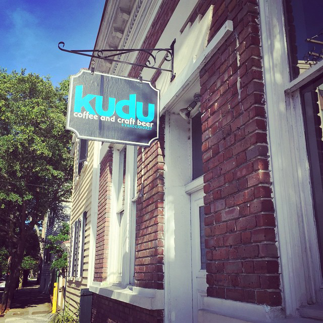 7. Kudu Coffee & Craft Beer - Charleston, SC 4 Vanderhorst St, Charleston, SC 29403