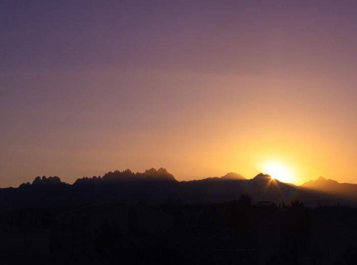 11. Sunrise over Las Cruces