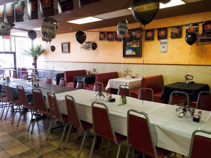 8. Las Palmas Mexican Restaurant