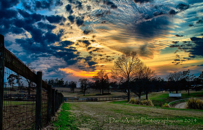 17. Yes, at the end of the day, under every glorious sunset, living in rural South Carolina is the best.