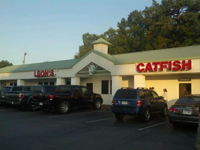 13. Leon's Catfish & Shrimp Restaurant
