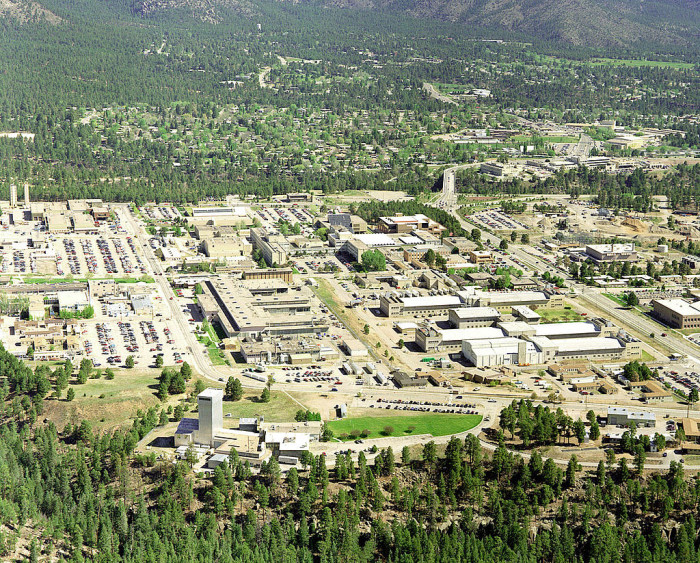 4. You could really up the ante by hiding up in Los Alamos.
