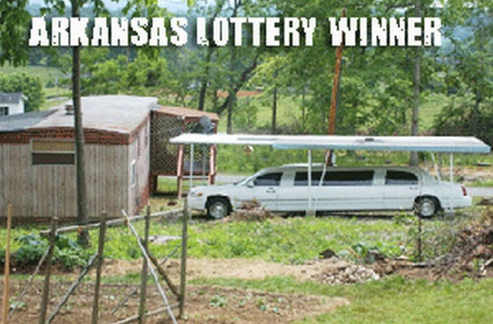 1. Arkansas Lottery Winner