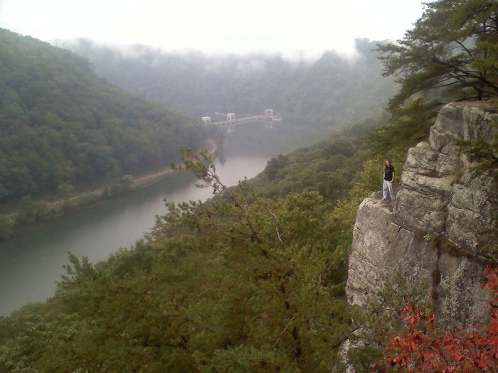 7. Lovers' Leap at Hawks Nest