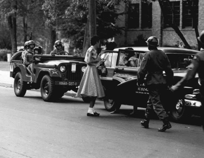 4. Protecting The Little Rock Nine