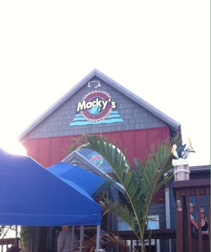 8) Macky's Bayside Bar & Grille, Ocean City