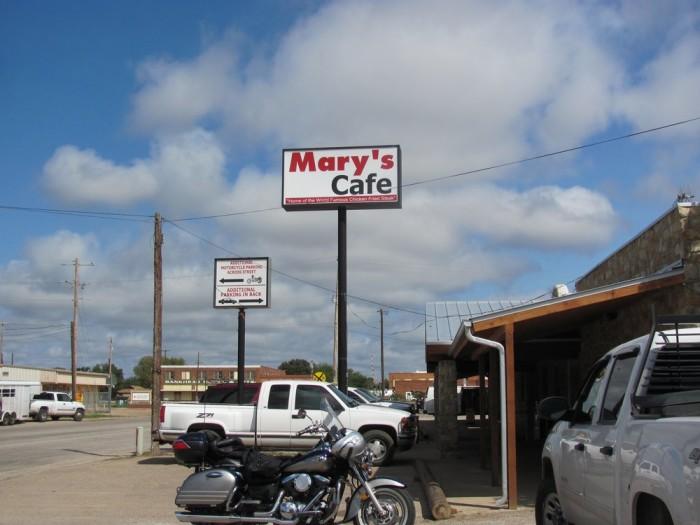 4. Mary's Cafe (Strawn)