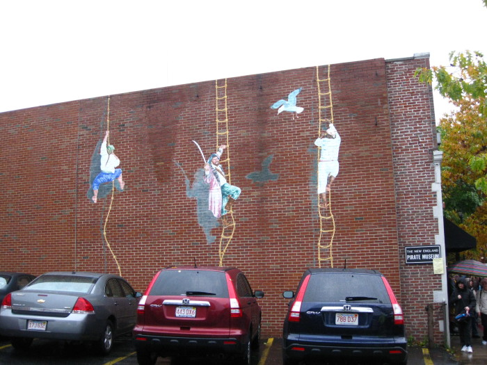 9. The New England Pirate Museum, Salem