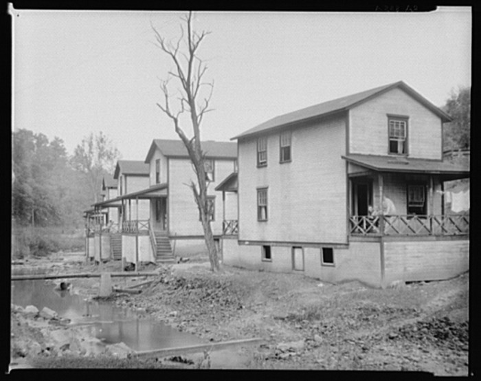 5. These were mining houses in Scotts Run, 1935