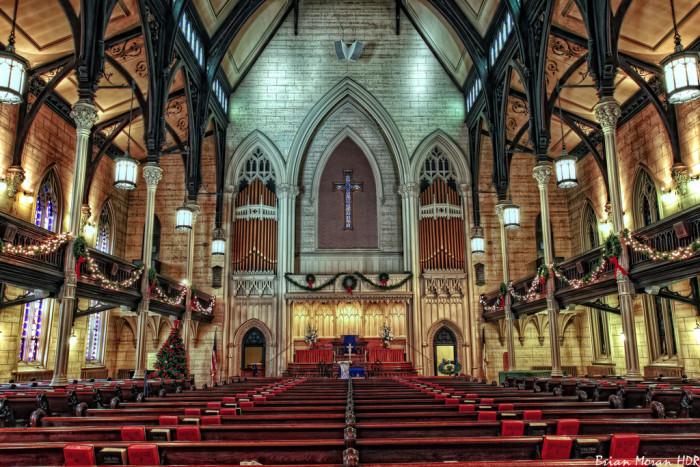 Superb Catholic Church Annapolis Md #3: Mt-vernon-place-united-methodist-church-baltimore-700x467.jpg