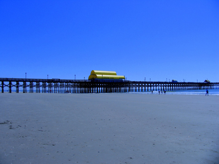 13. The Apache Pier on the odd day that hardly anyone is around.