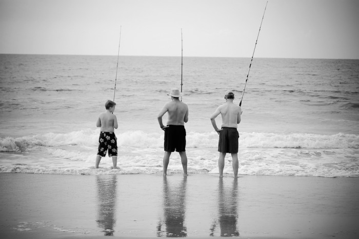 7. Instead of watching fish at the aquarium - GO CATCH SOME.