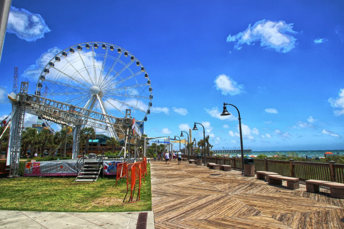 1. The Skywheel in Myrtle Beach during the day...