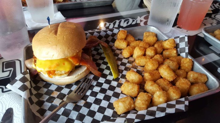 North Dakota: Eggstraordinary Burger at Sickies Burger (Fargo & Bismarck).