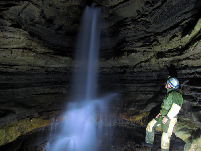 6. Norman Cave in Greenbrier County