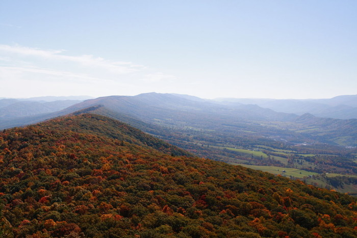 6. North Fork Mountain Trail