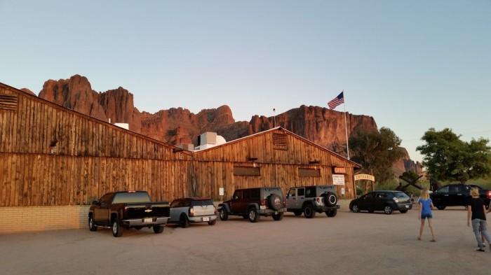 7. Mining Camp Restaurant, Apache Junction