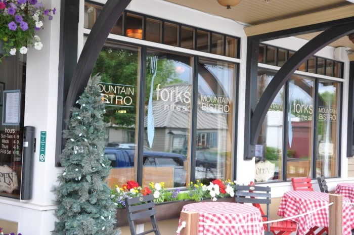 1. Forks in the Air Mountain Bistro, Rangeley: 2485 Main Street, 207-864-2883