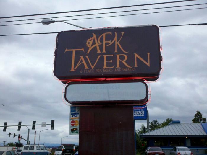 6. AFK Tavern, Everett