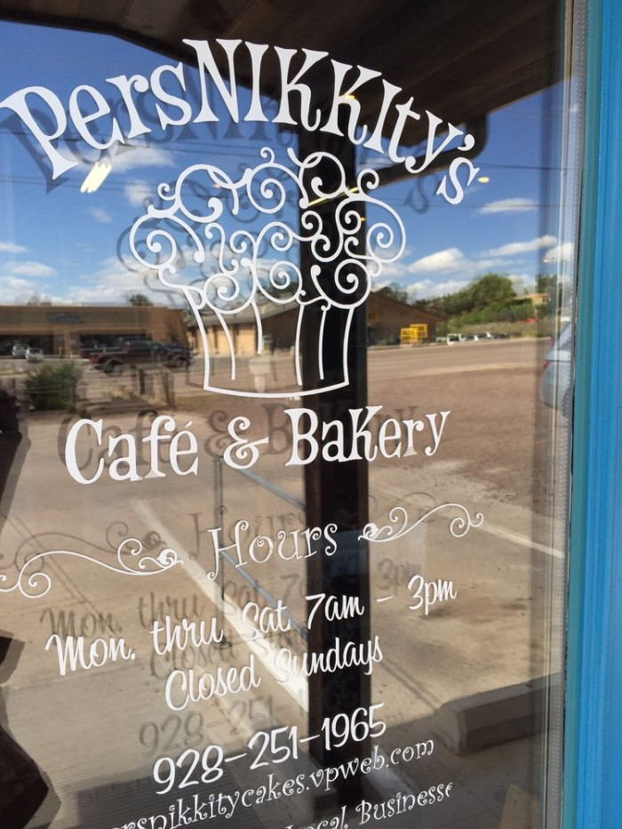 11. PersNIKKIty's Cafe & Bakery, Show Low