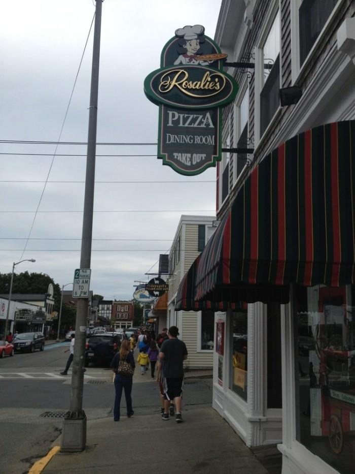7. Rosalie's Pizza, Bar Harbor