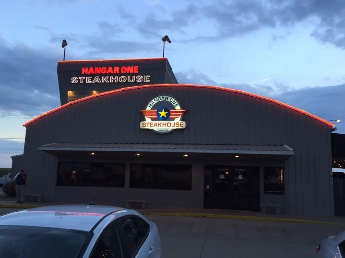 12. Hangar One Steakhouse (Wichita)