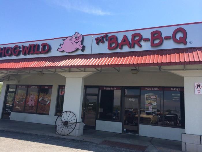 8. Hog Wild Pit Bar-B-Q (Wichita)
