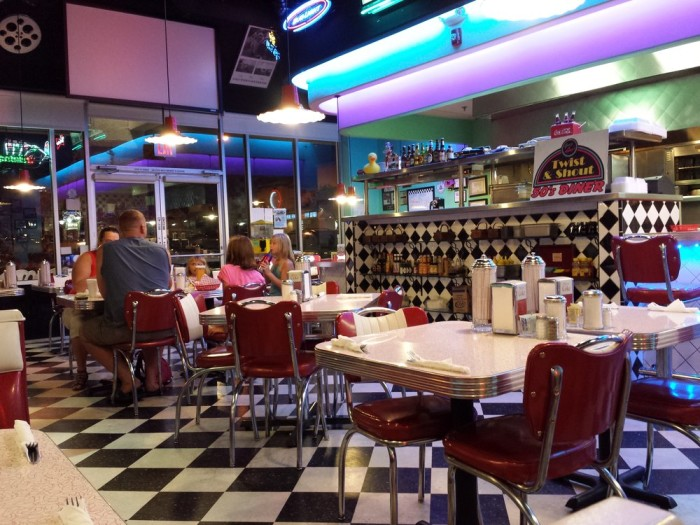 4. Greg & Amy's Twist and Shout 50's Diner, Green Valley