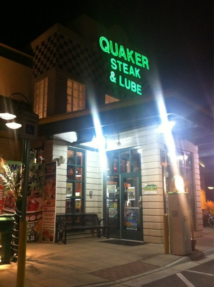 6. Quaker Steak and Lube (Westminster)